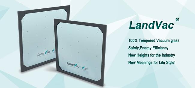 Landvac Low Price Ocean Blue Vacuum Super Glass for School hospital Bulidings