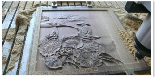 3D CNC Router for Wood Door Making