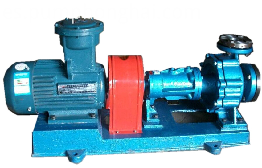 Electric high temperature oil transfer centrifugal pump
