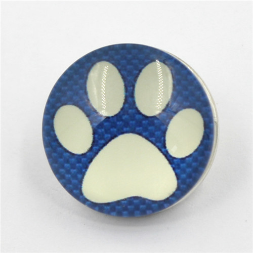 China High Quality Custom Design Round Press Metal Snap Button with Logo for Clothing