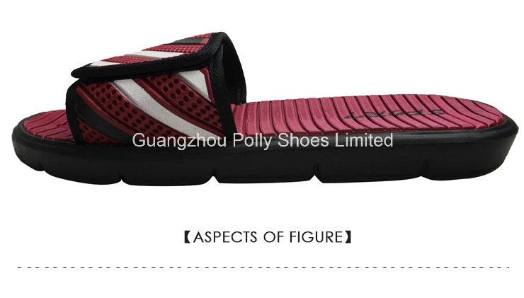 Mens Velcro Flip Flop Shower Sports Sandals Flat Gents Slipper