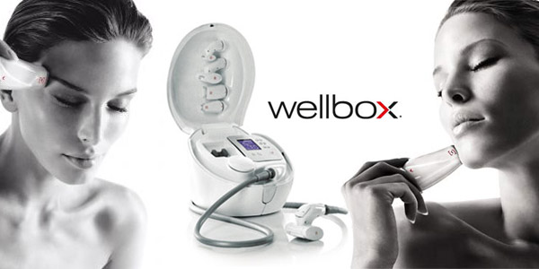 Ls06 White Wellbox Facial Massage Skin and Body Treatments Portable Slimming Beauty Machine