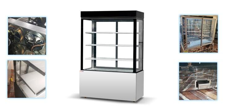 supermarket cake cabinet