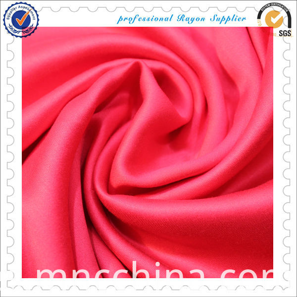 100% Viscose Satin Fabric