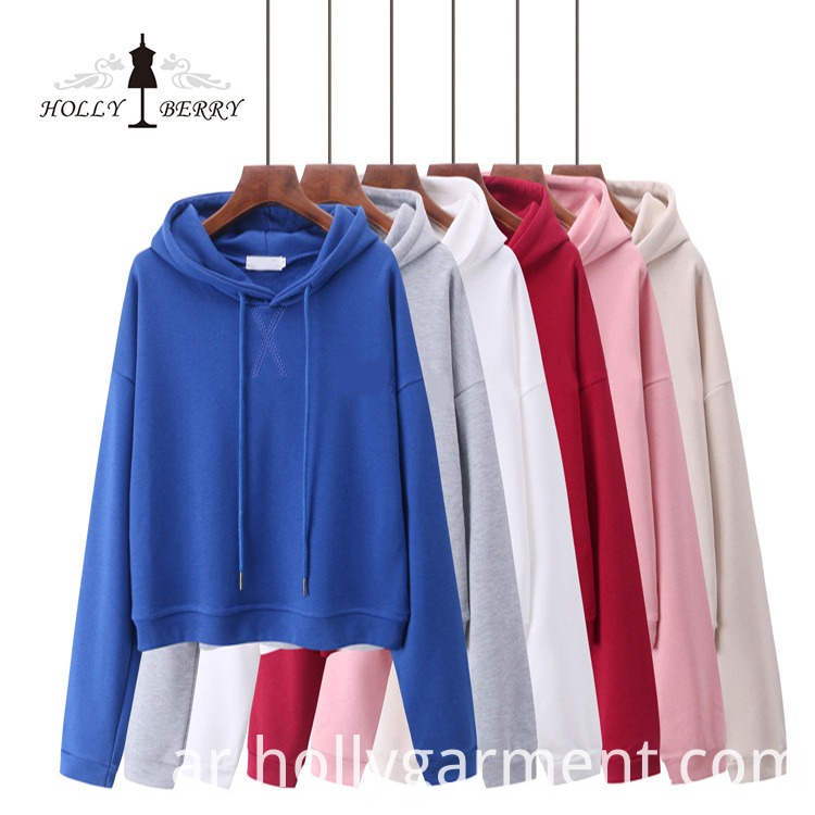 Embroidered Hoodies Women