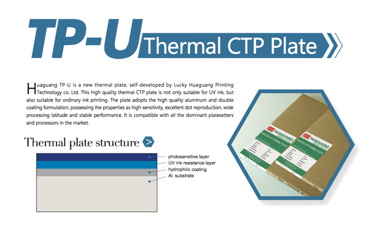 Double Layers Thermal Ctp Plate