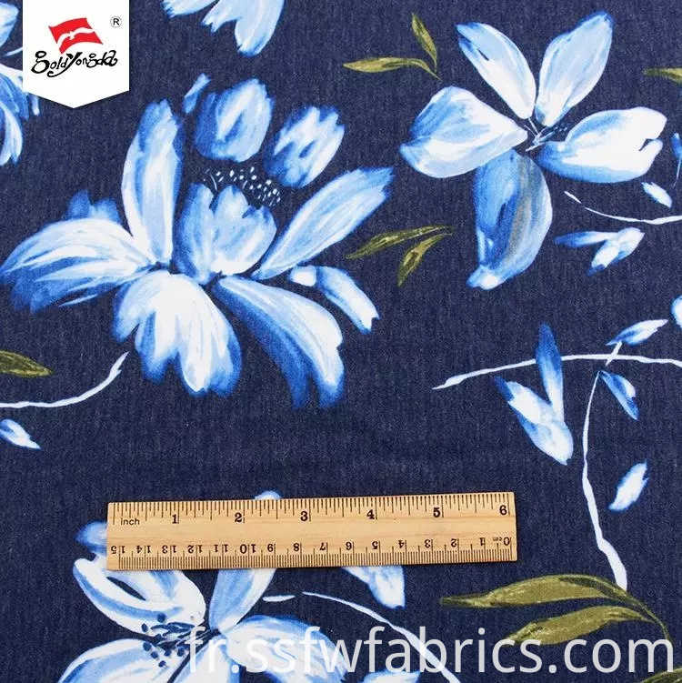 Printed Polyester Fabric