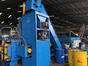 Y83W-1000 Horizontale automatische Brikettiermaschine für Stahlspäne