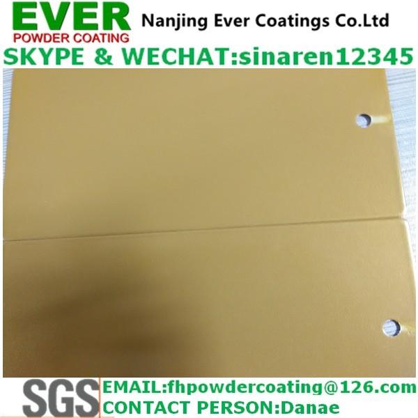Electrostatic Spray Metallic Glitter Gold Powder Coating