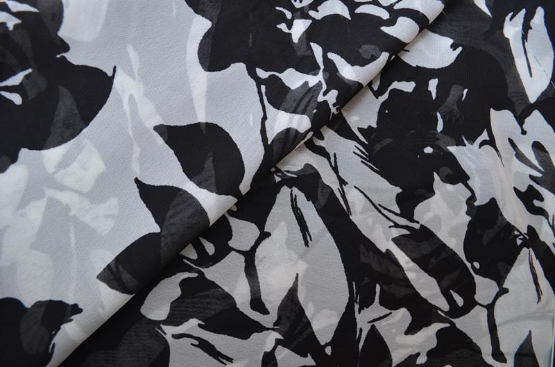 100d High Twist Chiffon Printing for Women's Dress, Skirt