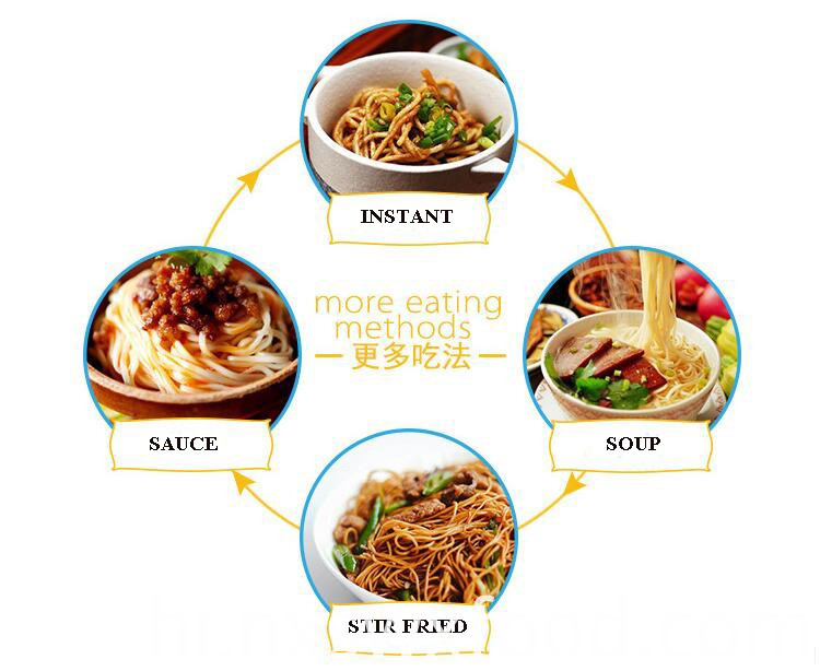 Noodles Used to Lose Weight