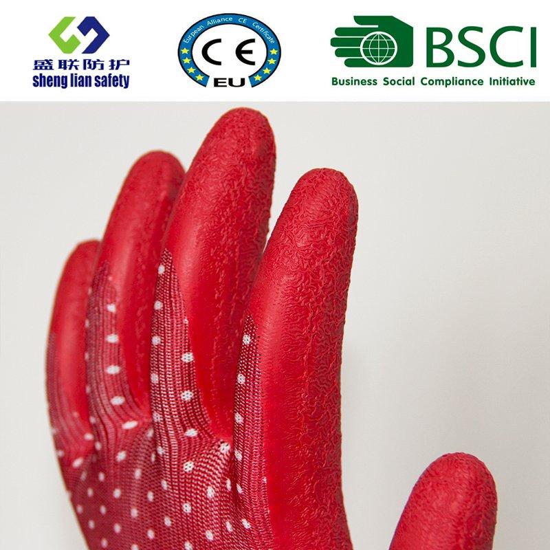 Latex Coated Garden Safety Work Gloves