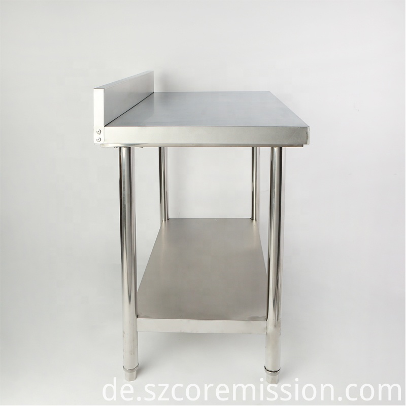 Commercial Restaurant Kitchen Stainless Steel Work Table