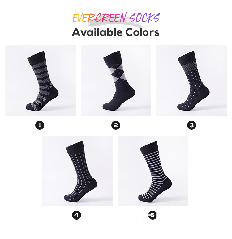 Men Dress Box Socks