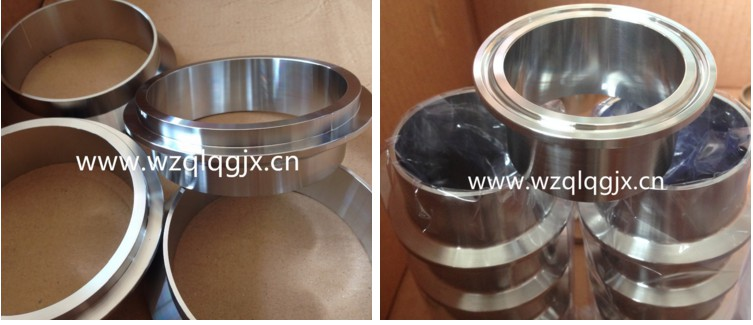316 Stainless Steel Sanitary Tri Clover Ferrule for Oil and Gas
