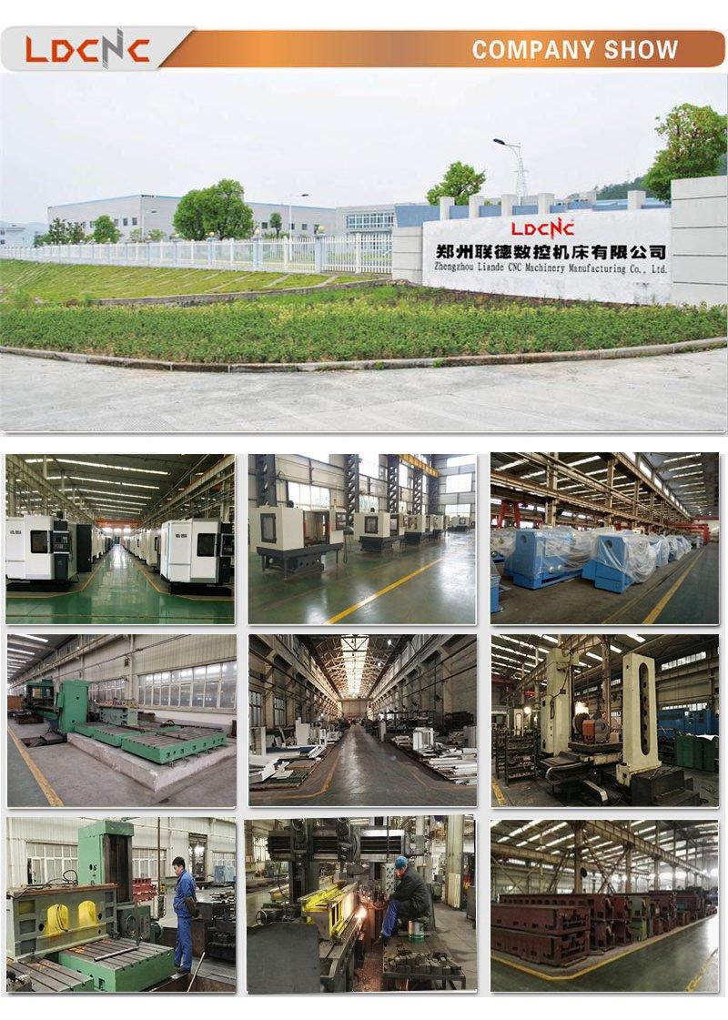 Cw61100 Economic Light Duty Lathe Machine for Steel