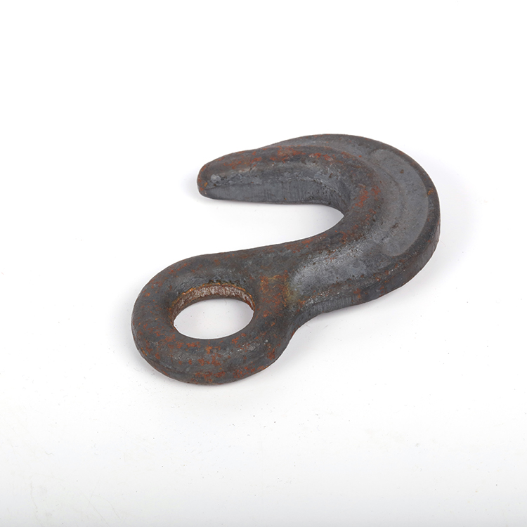 OEM customized stainless steel aluminum titanium process machinery hook marine parts with investment casting