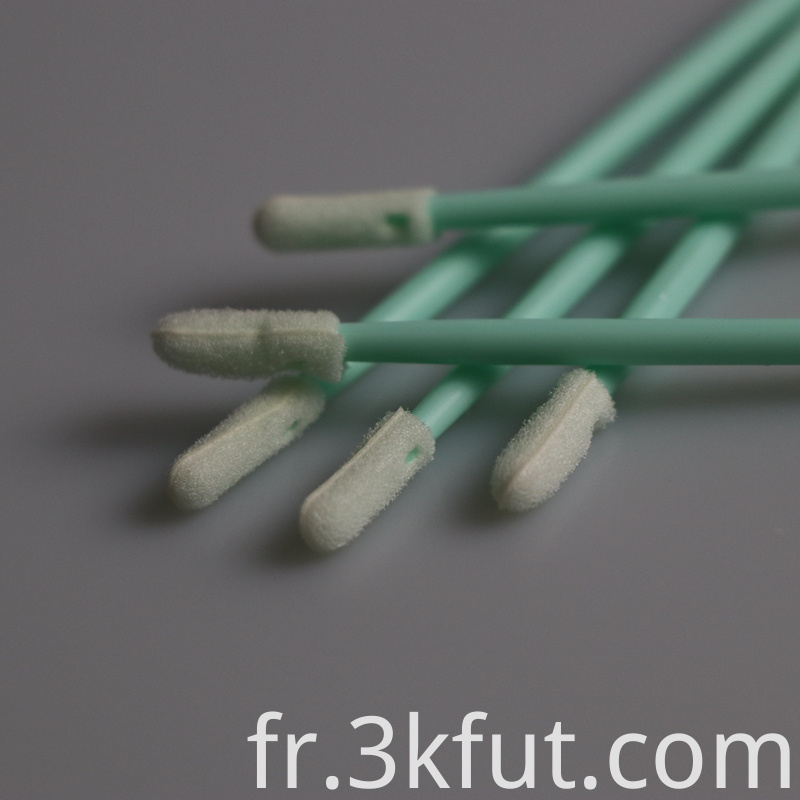 Cleaning Rectangle foam tip swab
