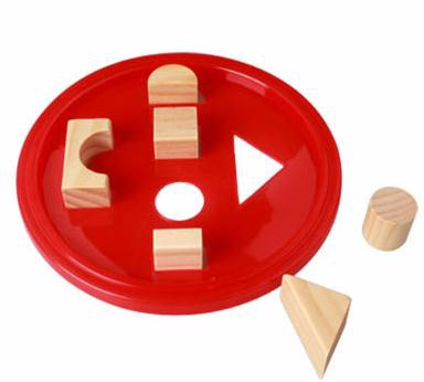 original color wooden toy