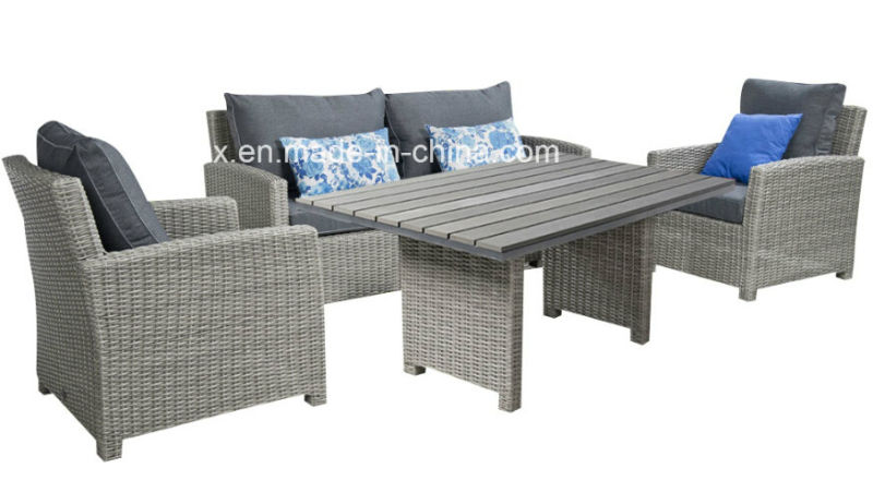 Garden Wicker Patio Rattan Lounge Sofa Set Outdoor Furniture