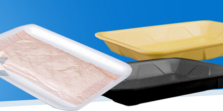 29X38.5cm Blue PP Plastic Blister Packing Tray for Mango
