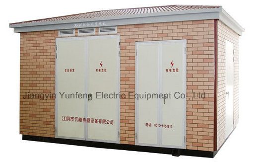 Ybm-with 2 Structures Prefabricated Substation