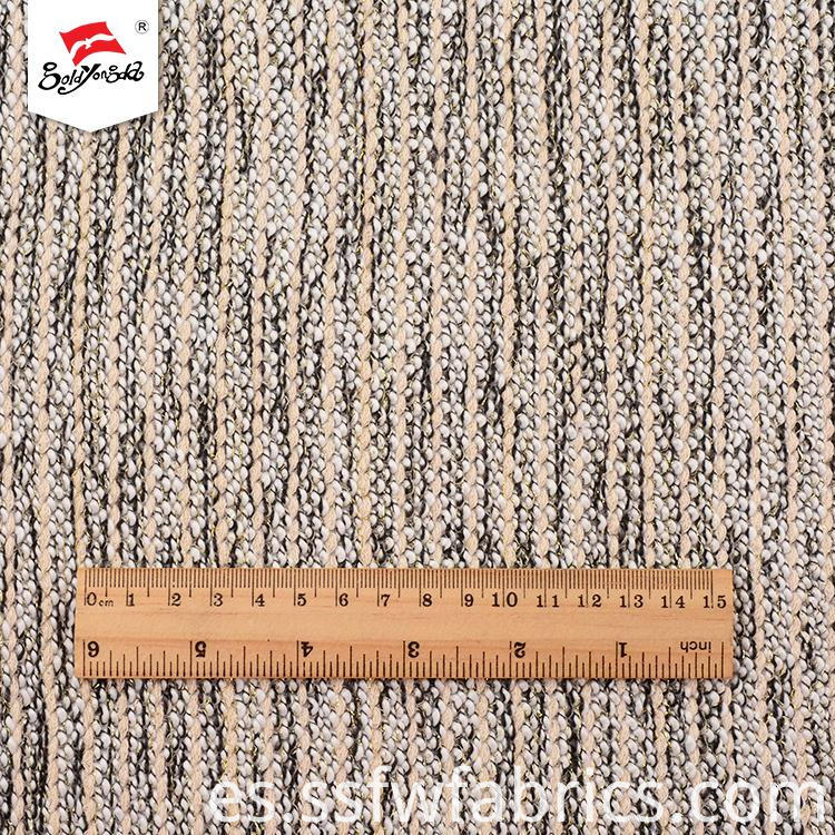 Soft Hand Feel Lurex Knit Fabric