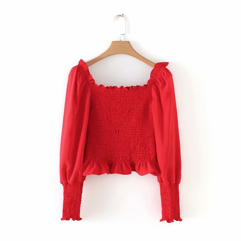 Blouses Ladies Long Bat Sleeve