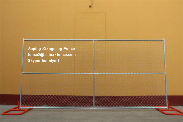 Galvanized Chain Link Temporary Fencing for Us Markets