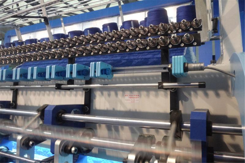 High Speed Computerized Bedspread Quilting Machine Lock Stitch