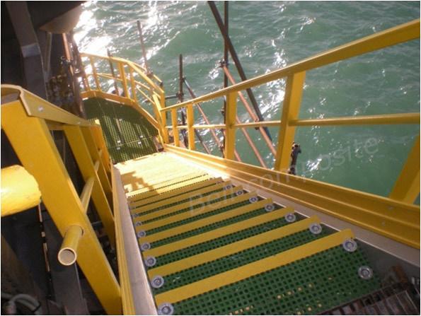 FRP Handrail/Building Material/Fiberglass Ladder/Hall Ladder