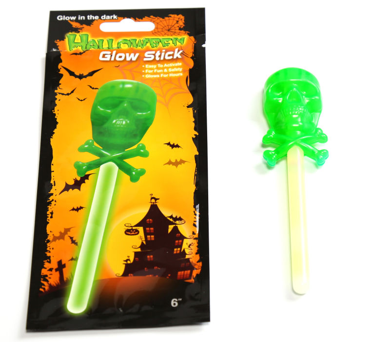 New Products Glow Skull for Halloween