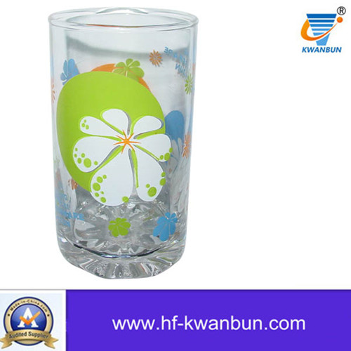 High Quanlity Good Glass Cup Set Decal Water Cup Kb-Hn08167