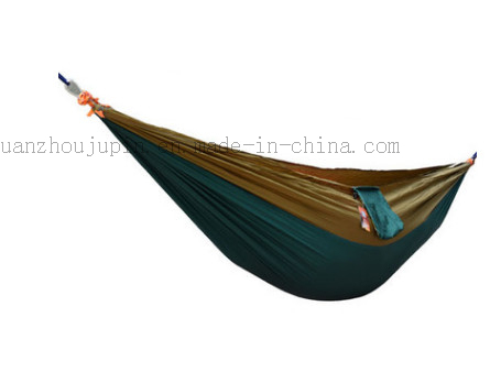OEM Nylon Outdoor Parachute Camping Bed Hammock with Pocket