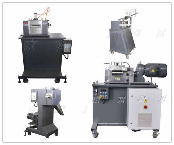 Plastic Nylon Fabric Making Machine of Double Screw Extruder in Plastic Extrusion