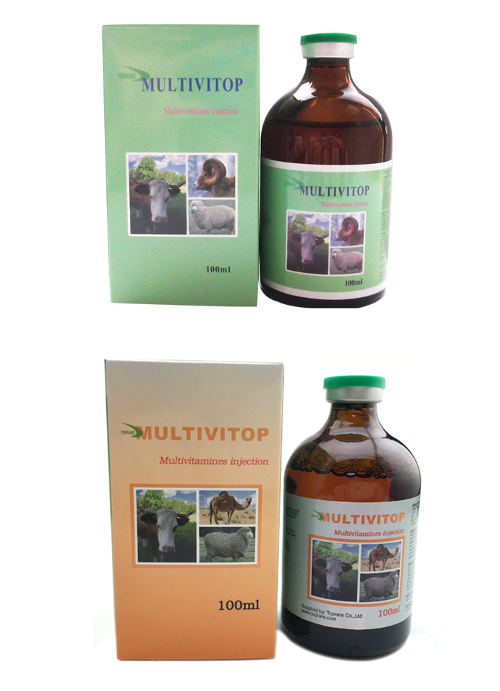 Veterinary Drugs of Multivitamin Injection (50ml/100ml)