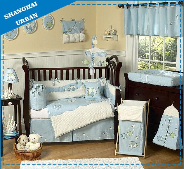 5PCS Cotton Bedding Duvet Cover Set Baby Quilt