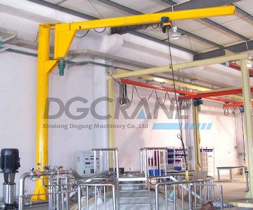 Workshop 2T Wall Mounted Jib Crane