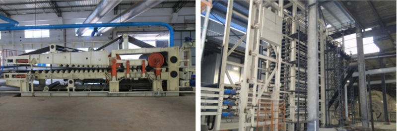 The Fully Automatic MDF Laminating Production Line of Hot Press Machine