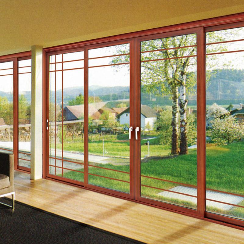 European Style Double Glazing Aluminium Sliding Door (FT-D80)