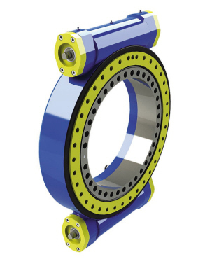 Open Type Slewing Drive/Worm Gear for Solar Energy (L3 Inch)
