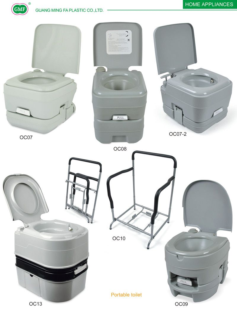 Portable Toilet Outdoor Mobile Toilet Plastic Hdep
