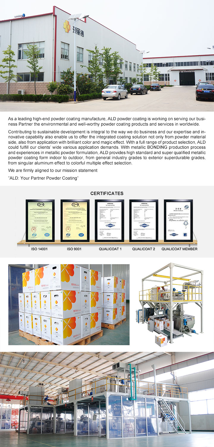 Ral7035 Powder Coating Powder Manufacturer (A10T70092M)