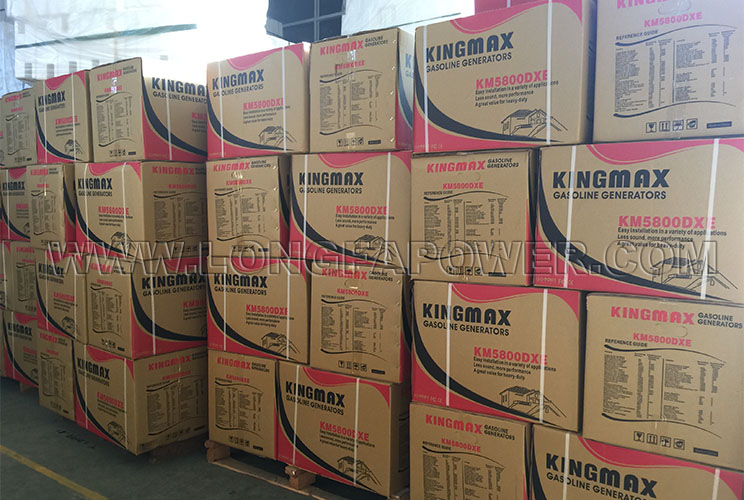 Km5800dxe Electric Start Kingmax Generator for Home Use