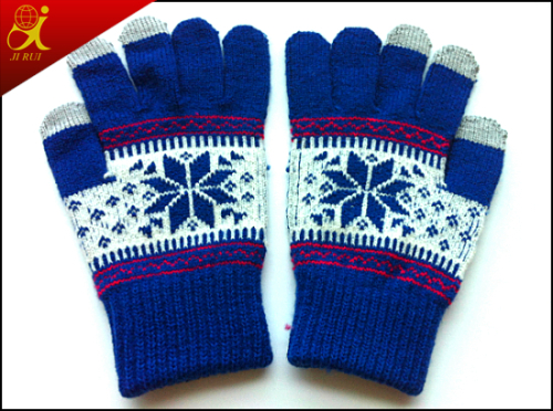 Winter Girl Touch Screen Gloves