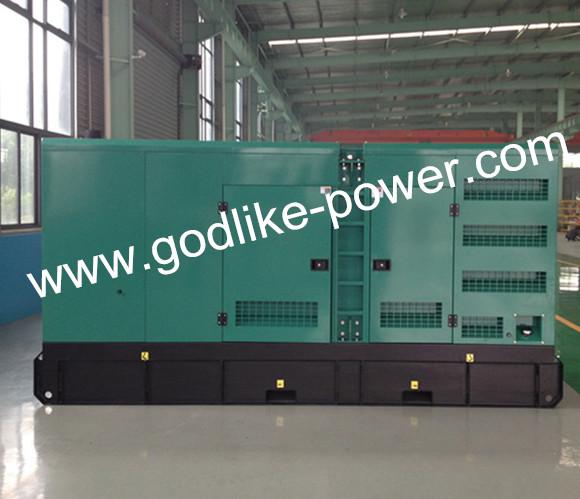 Ce, ISO Approved 500kw/625kVA Cummins Diesel Generator (KT38-G) (GDC625*S)