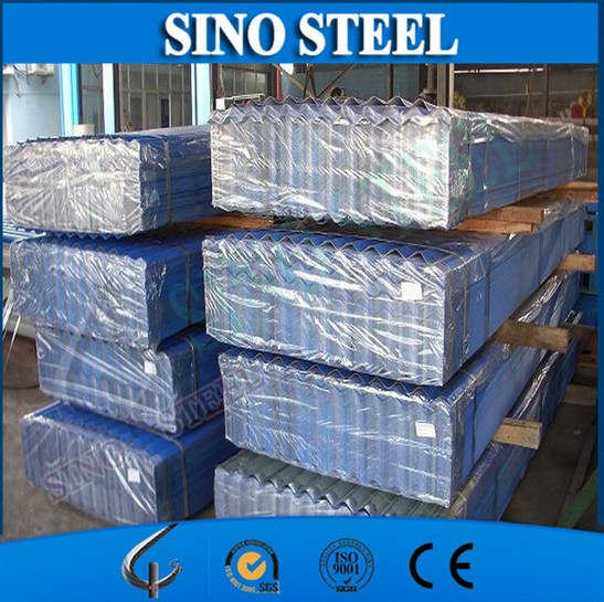 Hot Dipped Galvanized Corrugated Steel Roofing for Building