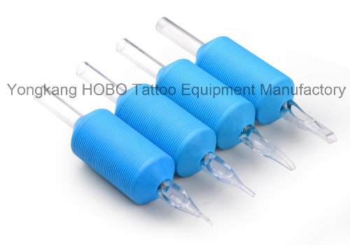 Cheapest Products Colorful Disposable Tattoo Grips with Tips Supplies