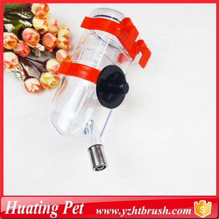 Portable dog drinking bottle