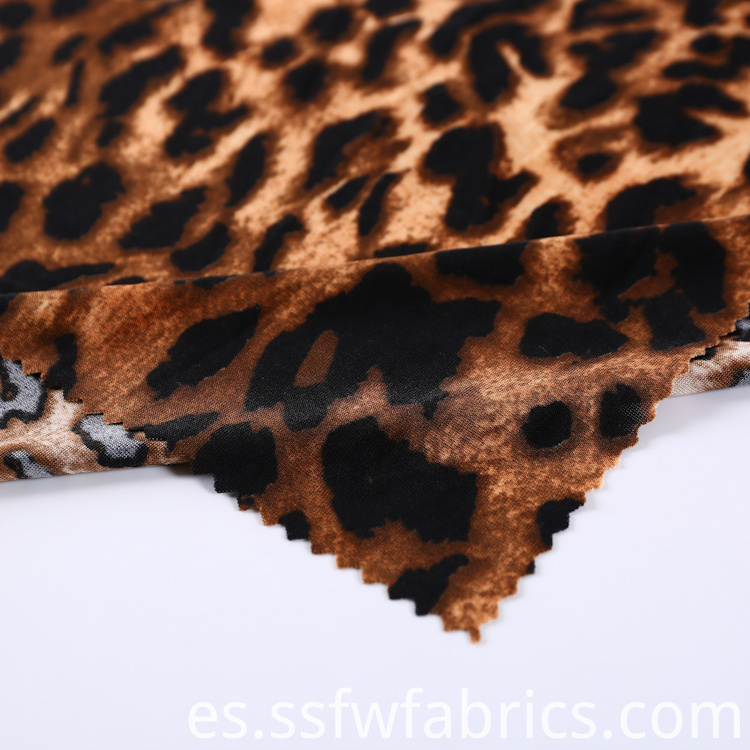 Hot Selling Fashionable Leopard Print Fabric